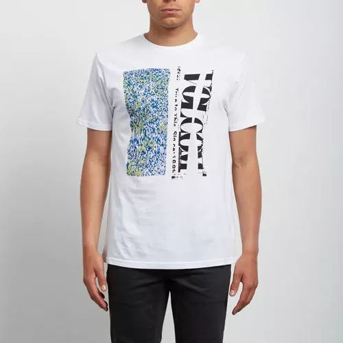 Volcom STATIC SHOP BSC SS WHITE