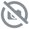 PONCHO MADNESS ADULTE Teal/Fluo Lime
